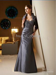 Wholesale JA 2010 Mermaid Sweetheart Pleats Floor Length Taffeta Dress for Mother of the Bride J3320, $68.32-72.8/Piece | DHgate