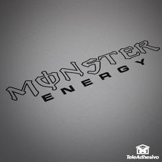 Pegatina Monster Energy 2