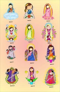 Risultati immagini per virgen guadalupe imprimibles topper cupcake Aluminum Can Crafts, Felt Crafts Patterns, Catholic Crafts, Baptism Party, Holy Mary, Blessed Virgin Mary, Catholic Saints, Mother Mary, Embroidery Patterns