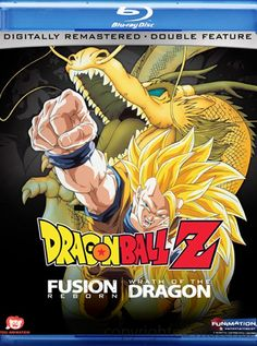 Dragon Ball Z: Fusion Reborn / Wrath Of The Dragon (Double Feature) (Blu-ray ) | DVD Empire