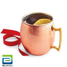GIFT FOR HIM: The trendy Copper Mule Mug. As essential to the recipe for a true #MoscowMule as #vodka or ginger beer, this mug is also ideal for enjoying cool, refreshing drinks year round.