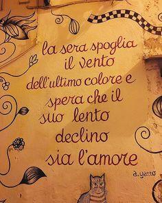 #salerno #scrittesuimuri #poesie #alfonsogatto #campaniadascoprire  #visitcampania #campaniadavivere  #igers_campania #paesaggisalernitani