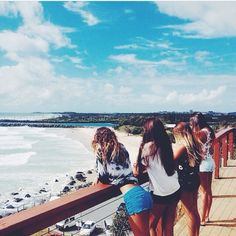 best friends // ocean // beach // summer // goals