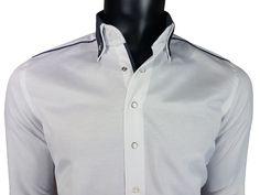 Koszula męska biały - - Koszule męskie - Awii, Odzież męska, Ubrania męskie, Dla mężczyzn, Sklep internetowy Athletic, Jackets, Fashion, Down Jackets, Moda, Athlete, Fashion Styles, Deporte, Fashion Illustrations