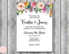 Elegantes invitaciones de boda personalizadas por BrideandBows