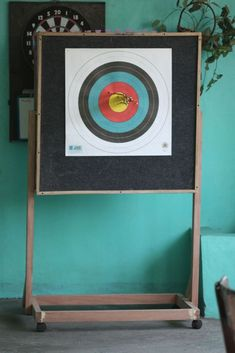 diy archery target out of workout mats
