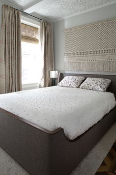 Commissions — Custom Macrame and Fiber Art sally england Ace Hotel London, Large Macrame Wall Hanging, Macrame Design, New Home Designs, Bedroom Styles, Home Decor Styles, Girl Room, Home Crafts, Fiber Art