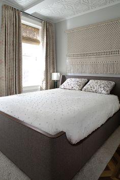 Commissions — Custom Macrame and Fiber Art sally england Woven Wall Hanging, Boho Wall Decor, Macrame Headboard, Decor, New Home Designs, Home, Home Decor Styles, Home Decor, Macrame Wall Art