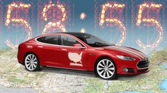 They Drove A Tesla From LA To New York In A Record 58 Hours 55 Minutes [Electric Cars: http://futuristicnews.com/tag/electric-vehicle/]