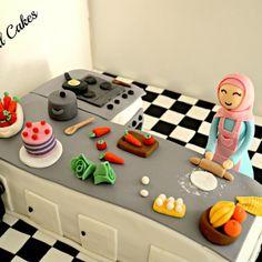 .@myspecialcakes | Kitchen Cake | Webstagram