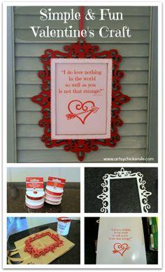 Simple & Fun Valentine's Day Craft