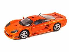 MotorMax 2004 Saleen S7 Die-cast 1:18 Scale Collectible Model Car (Orange) by MotorMax. $39.21. Die cast 2004 Saleen S7 Coupe in 1:18 scale. Realistic detailing, opening doors and hood, moving rubber tires, gleaming chrome-look trim, detailed engine compartment, and more.  Comes with a display stand that has gold car ID label.