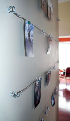 Cable Photo Hangers