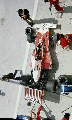 #5 Emerson Fittipaldi...Marlboro Team Texaco...McLaren M23...Motor Ford Cosworth DFV V8 3.0...GP Belgica 1974