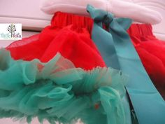 Baby Girl Christmas  Holiday Tutu Petti skirt and Headband Set on Etsy, $23.00