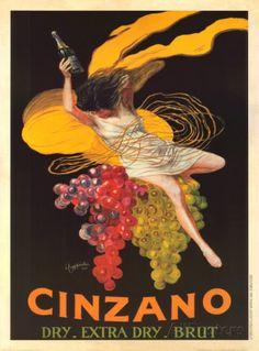 Asti Cinzano, c.1920 Prints by Leonetto Cappiello at AllPosters.com