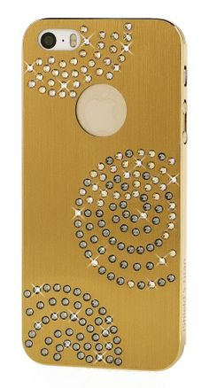 iShield 5 Titan Hülle Planet Gold (W) - Luxus iPhone Zubehör und iPhone Design Accessoires, iPhone Hüllen - iPhone Luxus Swarovski Schutzhül...