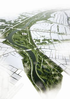 ONZ Architects and MDESIGN Design Ecological Corridor in Turkey