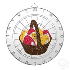 Easter eggs basket dartboards