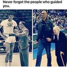 Never forget the people that helped and guided you.-Kareem Abdul Jabar and his coach John Wooden Sweet Stories, Cute Stories, Human Kindness, Touching Stories, Faith In Humanity Restored, Good People, Amazing People, Young People, Make You Smile