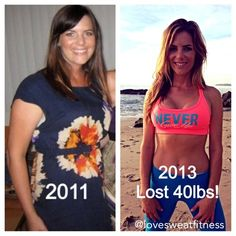 """I lost 40 lbs the HEALTHY way! Check out my page www.lovesweatfitness.tumblr.com for all my workouts, tips & motivation  Old weight: 5""""5 160 pounds  New weight: 5""""5 120 pounds! :)"""