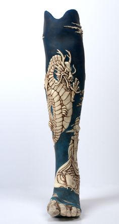 Amputee tattoos 333547916146908531 - Artificial limbs, the alternative limb project: Oriental leg Source by sonaho Character Inspiration, Character Design, Overwatch Hanzo, Prosthetic Leg, Crutches, 3d Prints, Cyberpunk, Steampunk, Sculptures