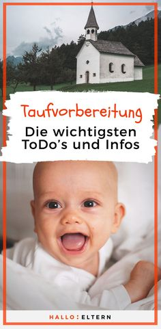 Taufe: Das musst du für die Vorbereitung wissen Many questions arise in the run-up to baptism: when is the perfect time for a baptism? What do I have to prepare? Who should be the godfather? Parenting Teens, Parenting Humor, Parenting Advice, Petunia Pickle Bottom, Baby Must Haves, Baby Shower Fall, Baby Boy Shower, Disney Diy, Baby Party