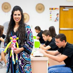 How an accidental teacher changed a community, one handmade toy at a time…