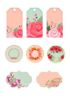 Nuskina: Imprimible gratis estilo shabby chic para scrapboo... Paper Art, Paper Crafts, Free Printable Tags, Happy Mother S Day, Mom Day, Craft Box, Shabby Chic, Crafty Projects, Gift Tags