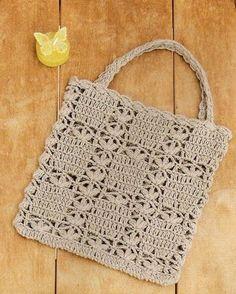 Marvelous Crochet A Shell Stitch Purse Bag Ideas. Wonderful Crochet A Shell Stitch Purse Bag Ideas. Crochet Shell Stitch, Crochet Tote, Crochet Handbags, Crochet Purses, Filet Crochet, Crochet Stitches, Knit Crochet, Crochet Designs, Crochet Patterns