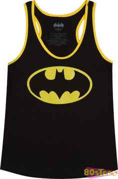 Ladies Batman Tank Top