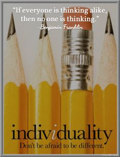 Great post on celebrating individuality with your students and how to build an inclusive classroom community!