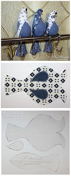Amazing Home Sewing Crafts Ideas. Incredible Home Sewing Crafts Ideas. Bird Patterns, Doll Patterns, Fabric Patterns, Sewing Patterns, Bird Crafts, Felt Crafts, Fabric Crafts, Sewing Toys, Sewing Crafts