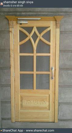 Front Gate Design, Door Gate Design, Door Design Interior, Modern Wooden Doors, Wooden Main Door Design, Cabinet Door Replacement, Door Design Images, Grill Door Design, Classic Doors