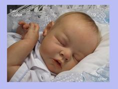 Joe Bourland BABY Cullen REBORN Newborn Noah