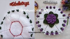 Gül Bahçesi Lif Modeli  #güllülif #lifmodelleri  #yenilif Crochet Flowers, Crochet Earrings, Floral, Crochet Dolls, Crochet Carpet, Ideas, Tejidos, Tricot, Eggs