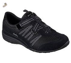 Skechers Sport Women's Unity-Existent Fashion Sneaker, Black Charcoal, 7.5 M US - Skechers sneakers for women (*Amazon Partner-Link)