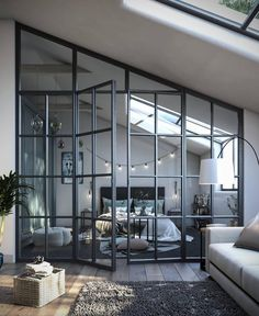 1 Zimmer Wohnung Beds: Smart Buying Tips You might lik Loft Style Bedroom, Home Bedroom, Bedroom Inspo, Bedroom Ideas, Design Bedroom, Loft Bedroom Decor, Loft Bedrooms, Master Bedroom, Bedroom Shelves