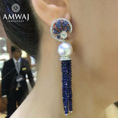 """134 Likes, 1 Comments - @amwaj_jewellery on Instagram: """"Every detail is created with careful precision and flaire. #bling #diamond #earring #jewelry…"""""""