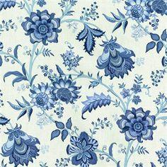 Fabric Blue Paisley Blue Fabric Fabric Retro Fabric Novelty Fabrick