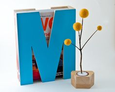 M is for magazine. In turquoise. <3 want