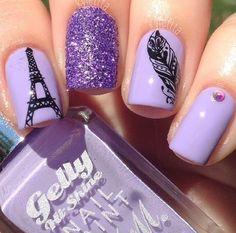 Eiffel Tower! Nail Polish Art Style Fashion Makeup Beauty