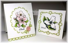 Stamping Scalloped Frames For Your Dies with Twine Time - stampTV
