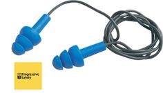 E.A.R TRACERS - Offering the same features as Ultrafit, whilst also metal detectable. Incorporating a blue vinyl cord making them ideal for use in the food industry. - www.psf.co.uk Ear Protection, Metal Detecting, Food Industry, Workplace, Cord, How To Make, Blue, Cable, Cords