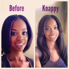 How to install clip ins on relaxed and natural hair knappy hair natural hair clip ins google search pmusecretfo Image collections