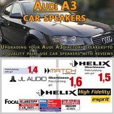 Audi A3 Auto Lautsprecher Set http://radio-adapter.eu/produkt-kategorie/auto-lautsprecher-set/audi-auto-lautsprecher-set/audi-a3-auto-lautsprecher-set/ more info on https://www.pinterest.com/radioadaptereu/fahrzeugspezifische-lautsprecher/