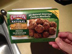 Delicious chicken meatballs, no wheat or soy