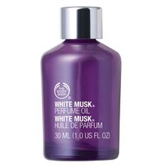 Body Shop's White Musk perfume oil... My scent since the 80's... Mixed with a bit of Patchouli, amazing!