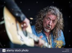 Robert Plant & The Sensational Space Shifters perform live at Pinkpop Festival 2014 in Netherlands © Roberto Finizio/Alamy Live