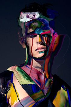 PAINTED MAN | PIERE DEBUSSCHERE — Patternity